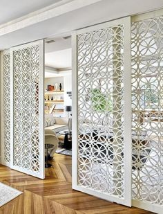 Unbelievable Ideas: Room Divider Wall Decor room divider window home office.Room Divider Furniture Tvs room divider window home office.Temporary Room Divider How To Make. Room Divider Doors, Room Doors, Living Room Divider, Room Divider Ideas Bedroom, Diy Bedroom, Closet Doors, Bedroom Ideas, Decor Room, Sliding Door Room Dividers