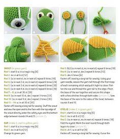 a knit and crochet community Crochet Dinosaur Patterns, Crochet Unicorn Pattern, Crochet Animal Amigurumi, Crochet Amigurumi Free Patterns, Free Crochet, Crochet Disney, Crochet Mouse, Crochet Bunny, Crochet Projects