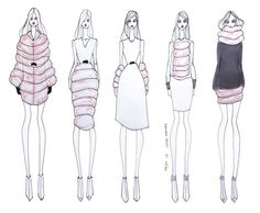 ISSA GRIMM: Concept Sketches #conceptdesign #conceptsketches fashion illustration
