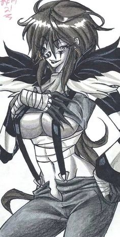 My Female Laughing Jack Drawing