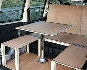Citroen Berlingo, Peugeot Partner & Renault Kangoo camper van conversion module