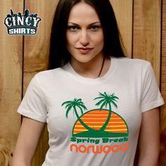 Spring break, Norwood t shirt