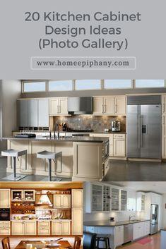 20 Kitchen Cabinet Design Ideas Kitchen Cabinet Design Kitchen