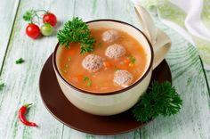 Ryžių ir frikadelių sriuba