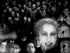 "Scene from ""Metropolis""  ""For her, all seven deadly sins!"""