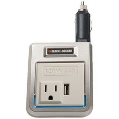 Black & Decker 120-watt Power Inverter With Usb Outlet