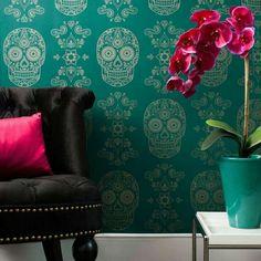 Sugar skull wallpaper!!!