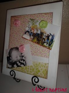 Blog Swap Tutorial: Dressed up Magnet Board! – The Polka Dot Chair