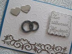Video-Tutorial: Karte zur silbernen Hochzeit selber machen / cardmaking card # 24/2014