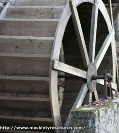 Off-Grid Electricity - DIY water wheel