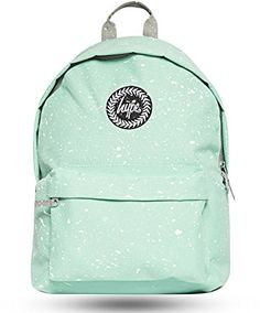 Hype Backpack   Unisex Rucksack Designer School Shoulder Bag   Just Hype  Speckle Bags (One Size, Mint White)  Amazon.co.uk  Shoes   Bags d202484ea9
