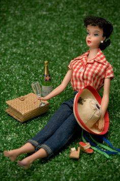 Picnic Barbie 8 x 12 Fine Art Photograph. $40.00, via Etsy.