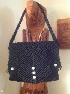 My favorite macrame purse.