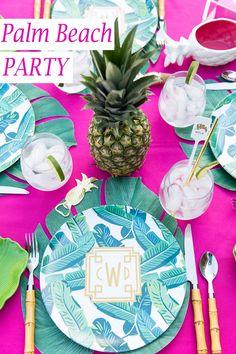 Throw a Palm Beach Chic Party!