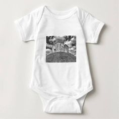 (Clifford's Tower in York  historical building Baby Bodysuit) #Ancient #Architecture #Britain #Building #Castle #City #Cliffords #Clifords #England #English #Famous #Fort #Fortress #Grass #Heritage #Hill #Historic #Historical #Keep #Landmark #Medieval #Mound #Norman #Old #Print #Ruin #Sky #Stone #Tourist #Tower #York #Yorkshire is available on Funny T-shirts Clothing Store   http://ift.tt/2g7ibmN
