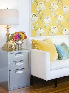 Dorm Décor Tip:  Buy pieces that are multifunctional!  Invest in furniture that serves more than one purpose. http://www.hgtv.com/specialty-rooms/8-stylish-dorm-room-updates/pictures/page-3.html?soc=pinterest