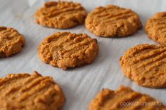 Gluten and dairy-free moist and chewy peanut butter mystery cookies - no one will ever guess what the secret ingredient is! Gluten Free Peanut Butter, Cashew Butter, Peanut Butter Recipes, Peanut Butter Cookies, Cook At Home, Recipe Using, Tray Bakes, Sweet Treats, Sandwiches