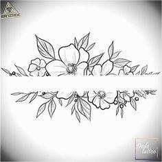 200 Fotos de tatuagens femininas no braço para se inspirar - Fotos e Tatuagens - Flower Tattoo Designs - Ein neues Design sucht den Besitzer zu einem Sonderpreis # Tätowierung - Neue Tattoos, Body Art Tattoos, Tattoo Drawings, Small Tattoos, Sleeve Tattoos, Flower Tattoo Designs, Flower Tattoos, Bracelete Tattoo, Schrift Tattoos