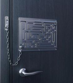 Creative Chain Lock / Kreatives Türschloss by/von  ???