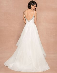 Bridal Gowns, Wedding Gowns, Organza Wedding Dresses, Blush By Hayley Paige, Bridal Boutique, Ball Gowns, Halsey, Spaghetti, Horsehair
