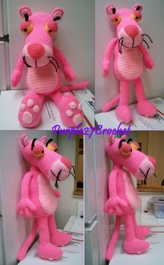 Crochet Pink Panther.