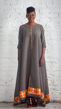 Urban Zulu African Print Dress African Design, Zulu, Print Design, Sari, Urban, Dresses, Fashion, Gowns, Moda