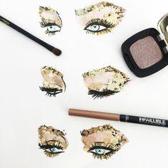 Golden eyes ✨✨✨✨✨ @irinashayk close up by our fav illustratror @reginayazdi. Do you like it?