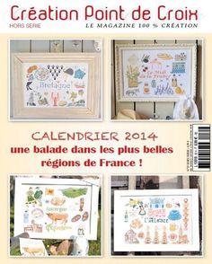 Création Point de Croix - Le Magazine 100% Création Française