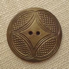 Beautiful Pressed Celluloid Wafer Button by SkeeterBitz on Etsy, $5.65