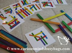 Problem Solving Pattern Matching Busy Bag by CuriousMindsBusyBags