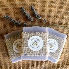 Handmade Natural Soap: Lavender Fragrance by ElliesFarmShop