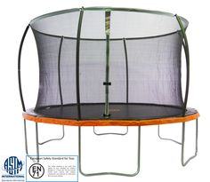 13'ft. Trampoline & Safety Net Enclosure Combo