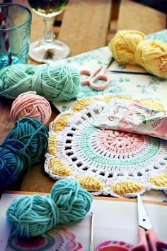 Coco Rose Diaries: inspiration for place mats!
