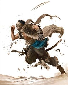 The Prince Early Concept Fantasy Character Design, Character Design Inspiration, Character Concept, Character Art, Prince Of Persia, Fantasy Artwork, Dnd Characters, Fantasy Characters, The Elder Scrolls