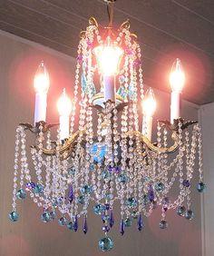 Antique French Empire Swarovski Crystal by sheriscrystals on Etsy, $724.95