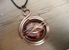 unique necklace, copper wire jewelry, gift for women, one of a kind wire wrap jewelry, wrapped jewelry necklace, copper metal pendant etsy by TFUniqueTwists on Etsy https://www.etsy.com/listing/517584786/unique-necklace-copper-wire-jewelry-gift #jewelrygifttips