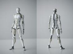 キャラクター原案・弐瓶勉。立体化した東亜重工「合成人間」が完成