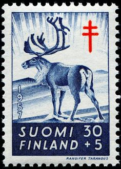 c1957 postage stamp...Finland