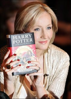 J.K.Rowling. Cinderella story brought to realization through hard work, determination, imagination, oh and a little talent ;)