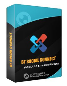 BT Social Connect Free Version is a multi-task social networking tool for Joomla. This component helps turn your site into a social hub. Main features are social auto submission (including Facebook and Twitter), social log in and registration, and add-on social widgets. With friendly CPanel being equipped, you find easy to manage article statistics and message logs. Effortless social marketing gives effective outcome with BT Social Connect.