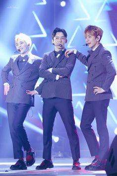 EXO-CBX - 170218 K-Drama Festa in Pyeongchang Credit: Vanilla Creamy.