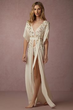 50cef6f81c BHLDN Artemis Robe in Bride Bridal Lingerie at BHLDN Wedding Underwear