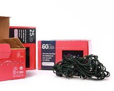 """Packaging mini luci """"New Lamps""""  - 169 Design"""
