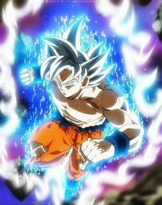 Mastered Ultra Instinct Goku!