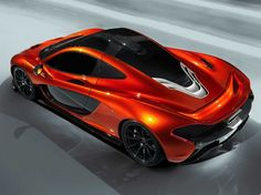 McLaren's P1 is the successor to the F1, once the fastest production car in the world.