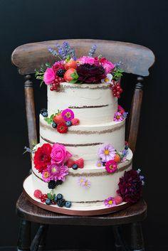 Naked Cakes für die Hochzeit