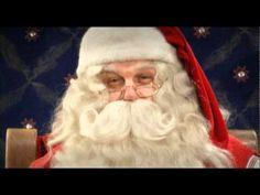 Joulupukin videotervehdys