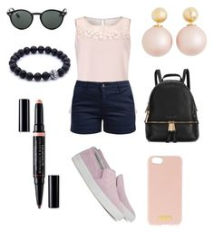 """""""-Saturday Afternoon-"""" by kateescobar ❤ liked on Polyvore featuring Jacques Vert, Barbour, Axel Arigato, Henri Bendel, Ray-Ban, Christian Dior and Michael Kors"""