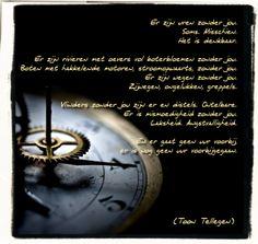 Toon Tellegen ~ Er zijn uren zonder jou #gedicht #poetry