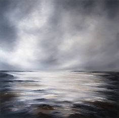A stunning print of an atmospheric seascape.This print can be also reproduced on box canvas, please contact the seller for details, via the Ask Seller A Question button on the product page.This wonderful fine art print of a stunning atmospheric seascape in soft greys and whites, inspired by coastline and driven by atmosphere. This print is a limited edition OF 25 on fine art museum paper, signed and numbered by the artist and comes with a certificate of authenticity. A stunning contemporary…